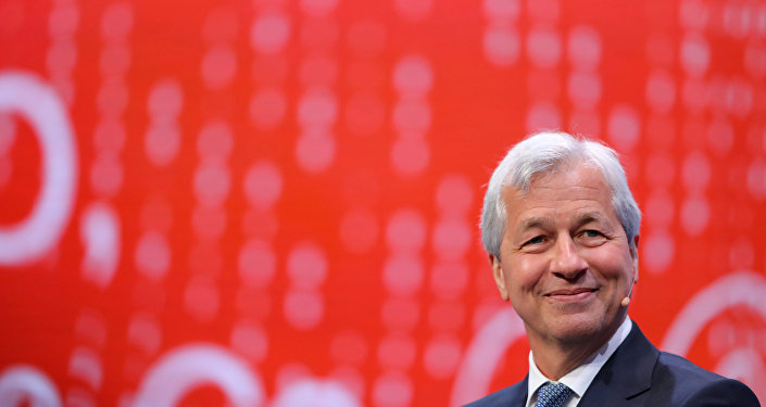 JP Morgan Chase CEO'su Jaime Dimon