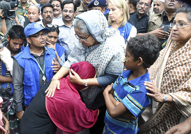 Bangladeş Başbakanı Şeyh Hasina Vecid