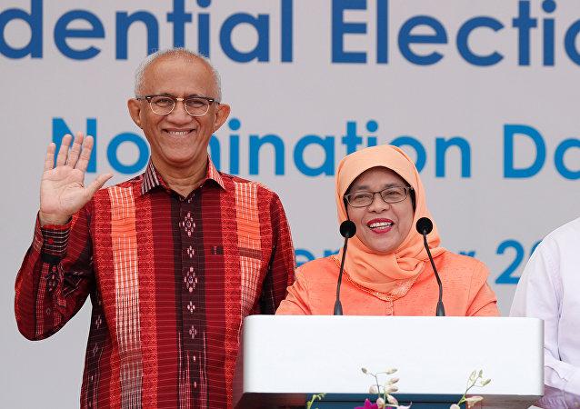 Singapur Devlet Başkanı Halime Yakup