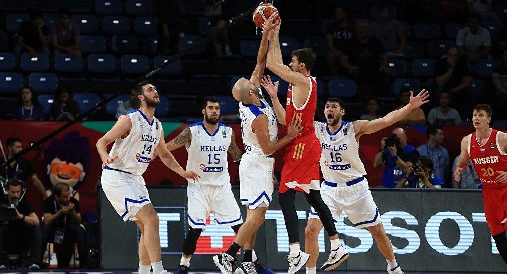 Eurobasket 2017 çeyrek final maçında Yunanistan ile Rusya karşılaştı