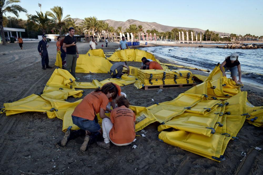 Yunanistan'da ekolojik felaket