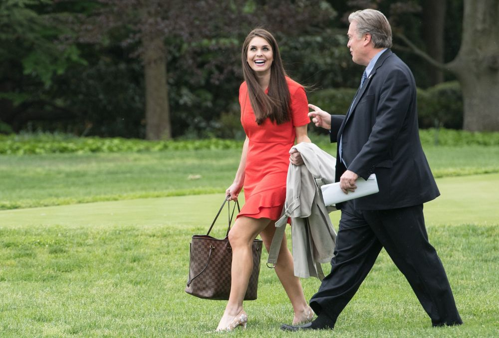 Beyaz Saray iletişim direktörü Hope Hicks