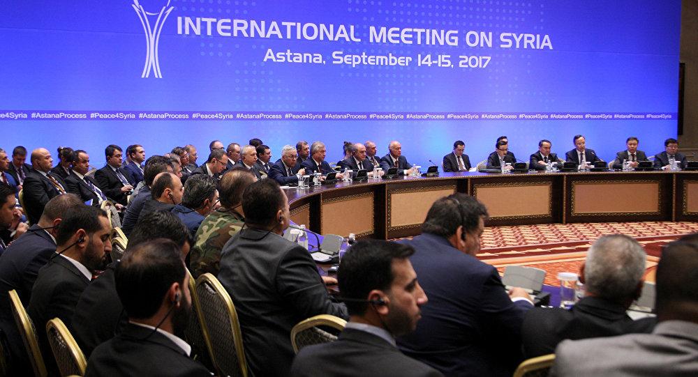 Astana görüşmeleri, 6. tur