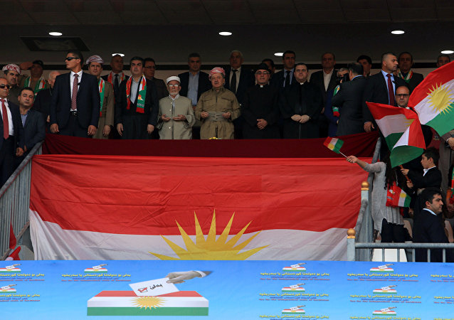IKBY lideri Mesud Barzani- Referandum