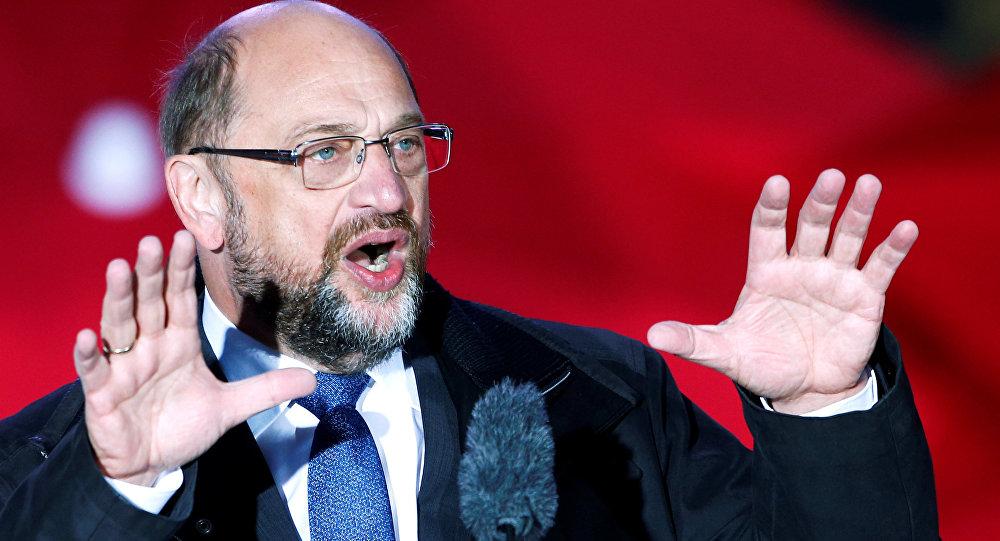 Alman Sosyal Demokrat Partisi lideri Martin Schulz