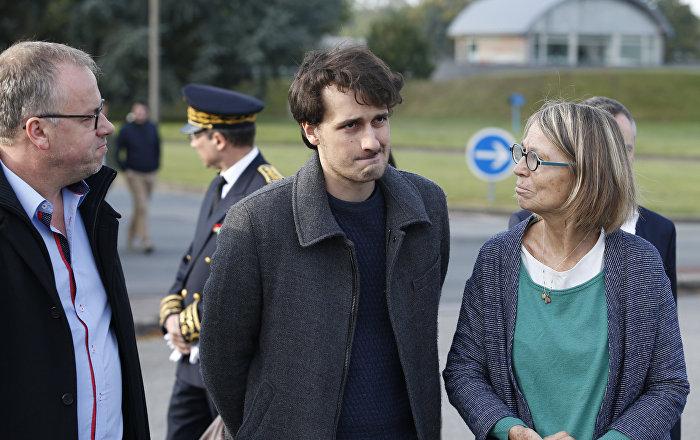 Fransız gazeteci, tahliyesinin ardından ülkesine geri döndü