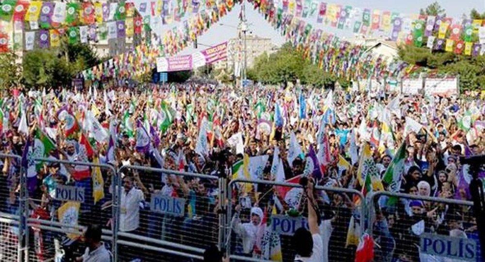 HDP Diyarbakır mitingi