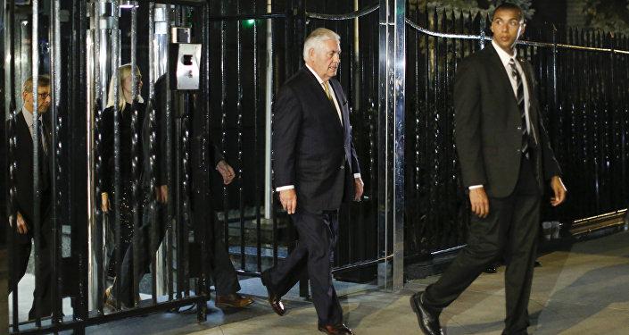 ABD Dışişleri Bakanı Rex Tillerson New York'ta Rusya Dışişleri Bakanı Sergey Lavrov ile görüştü