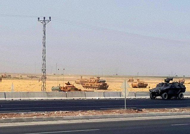 Irak sınırında tatbikat
