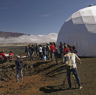 Mars'ta yaşam simülasyonu