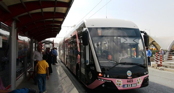 Pembe trambüs