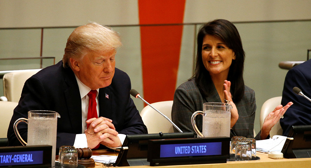 Donald Trump ve Nikki Haley