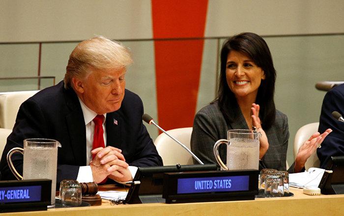 Haley, Trump'la ilişki iddialarını reddetti