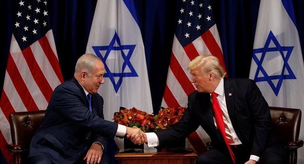İsrail Başbakanı Benyamin Netanyahu - ABD Başkanı Donald Trump
