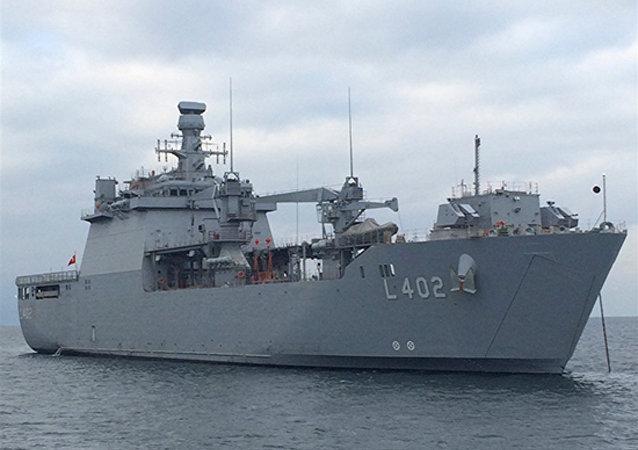 Çıkarma gemisi 'Bayraktar'