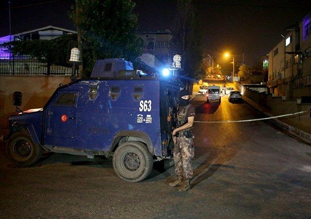 Gaziosmanpaşa'da polise saldırı