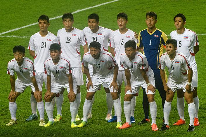 Kuzey Kore futbol takımı