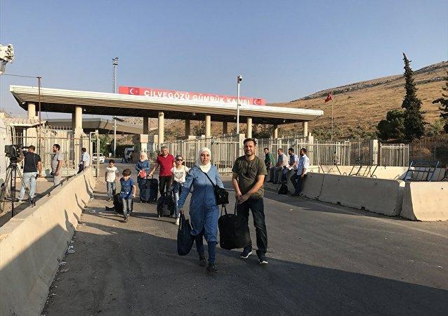 Suriyeli sığınmacıların bayram sonrası Türkiye'ye dönüşü sürüyor