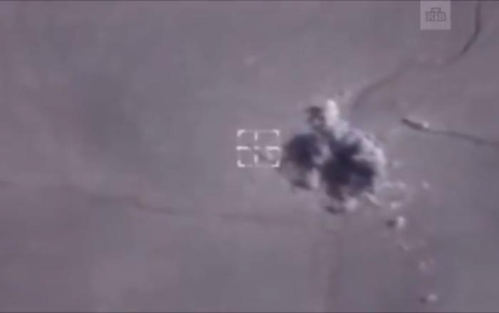Rus askeri polisleri çembere alan cihatçılar böyle vuruldu
