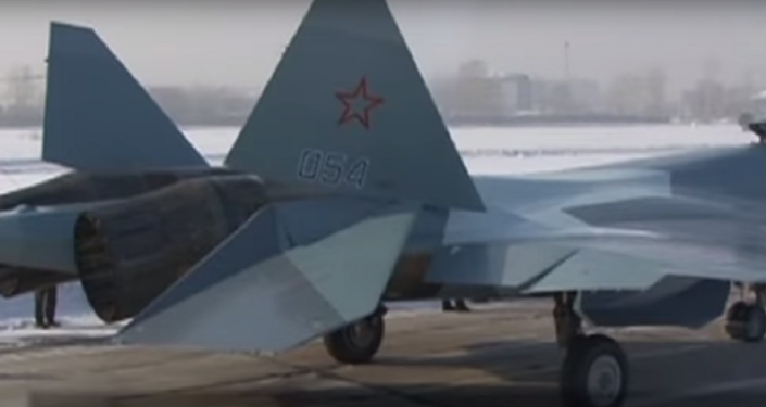 Su-57 savaş uçağı