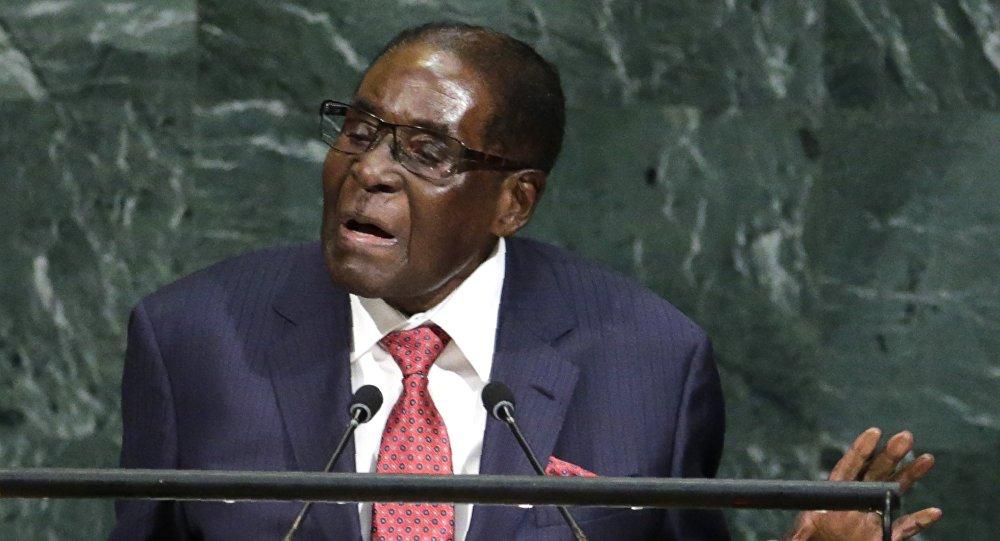 Zimbabwe Devlet Başkanı Robert Mugabe