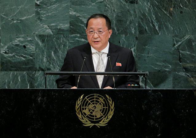 Kuzey Kore Dışişleri Bakanı Ri Yong-ho