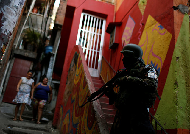 Brezilya- favela- polis