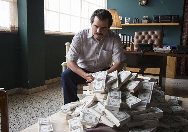 Kolombiyalı uyuşturucu kaçakçısı Pablo Escobar'ı konu alan Narcos dizisi