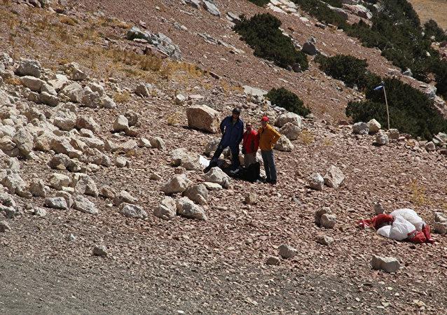 Muğla'da paraşüt kazası