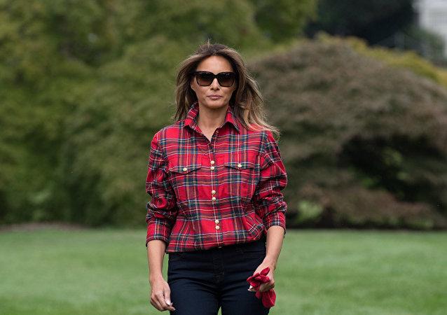 Melania Trump 1380 dolarlık gömleğiyle gündemde