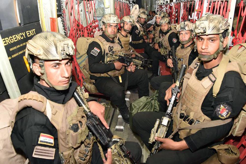 Iraklı askerler.