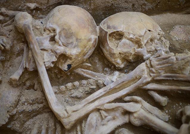 Lima - Peru - Arkeolojik kazı