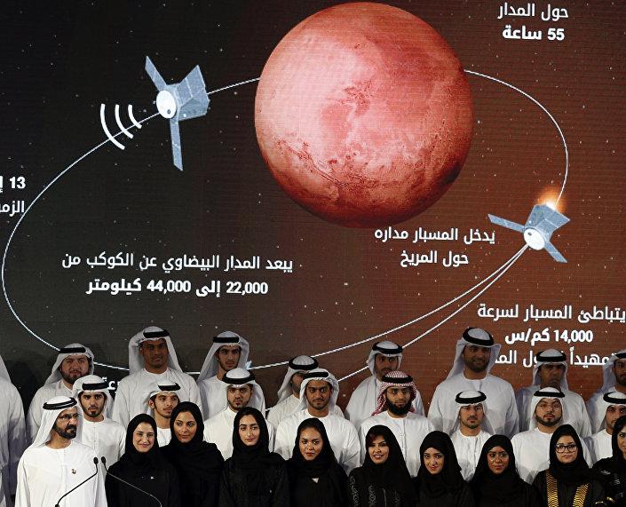 Birleşik Arap Emirlikleri- Mars projesi