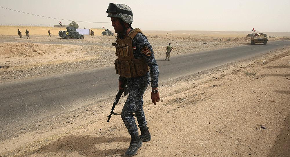 Havice yakınlarında bir Irak askeri