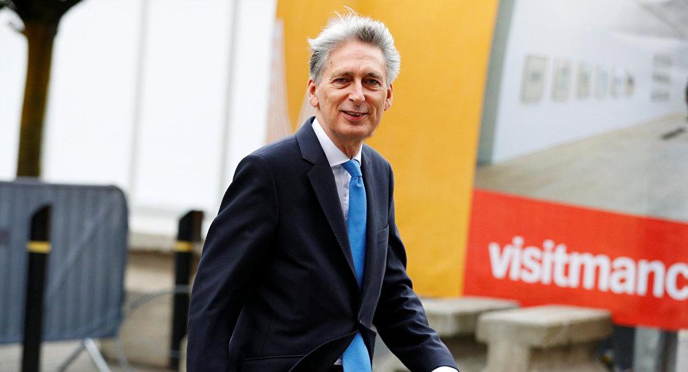 İngiltere Maliye Bakanı Philip Hammond