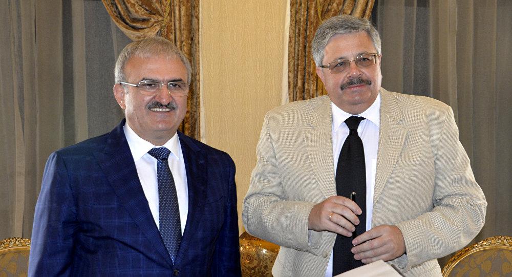 Antalya Valisi Münir Karaloğlu ve Rus Büyükelçi Aleksey Yerhov