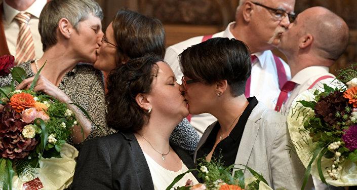 Almanya'da eşcinsel evlilik