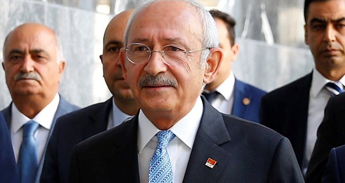 Cumhuriyet Halk Partisi (CHP) Genel Başkanı Kemal Kılıçdaroğlu