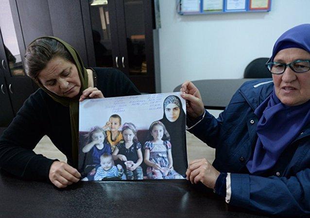 Kızı ve torunları kaybolan Çeçen asıllı Fatima Atagayeva