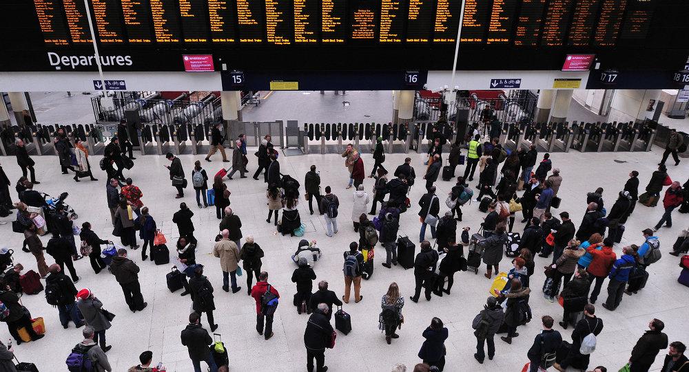 Londra, Waterloo tren istasyonu
