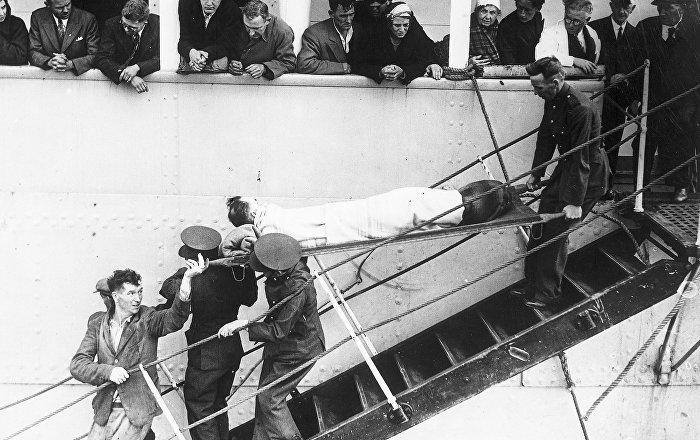 2. Dünya Savaşından kalan batık yolcu gemisi tespit edildi
