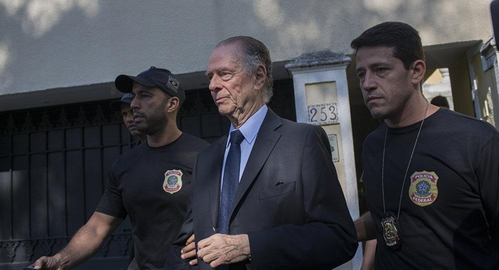Brezilya Olimpiyat Komitesi Başkanı Carlos Nuzman gözaltına alındı.