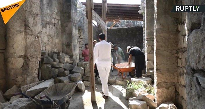 Demre'de Aziz Nikolas'ın mezarı aranıyor