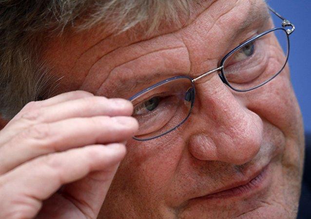 AfD lideri Jörg Meuthen