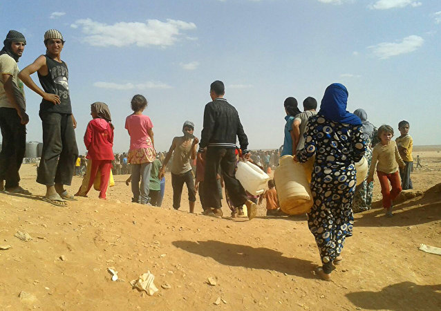 Rukban sığınmacı kampı