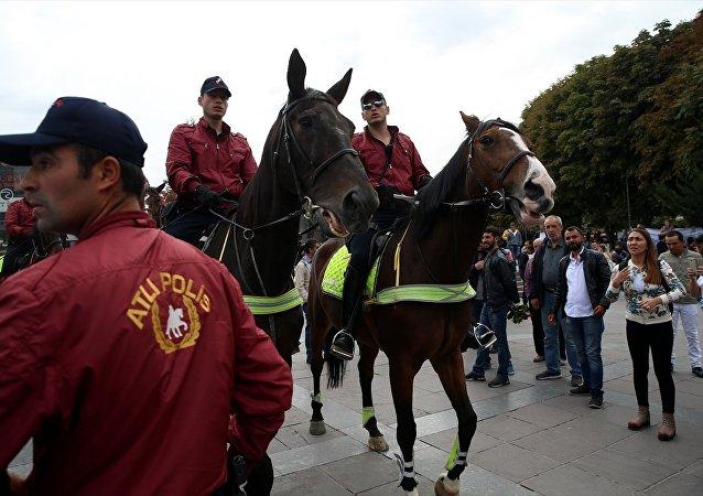 Ankara'da yeni güvenlik konsepti: Atlı polisler