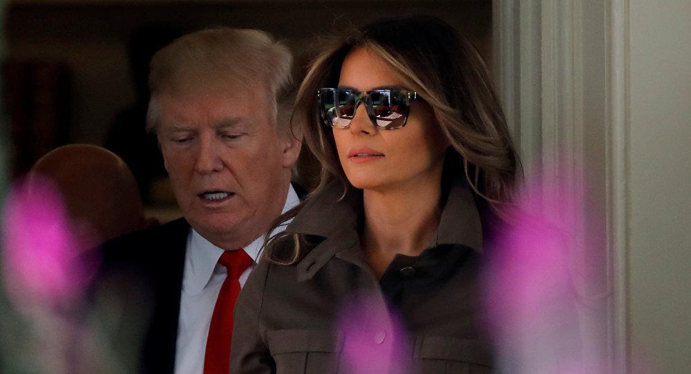 ABD'nin First Lady'si Melania Trump
