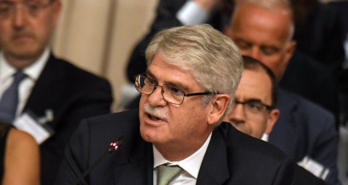 İspanya Dışişleri Bakanı Alfonso Dastis