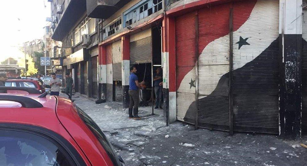 Şam'da art arda patlamalar