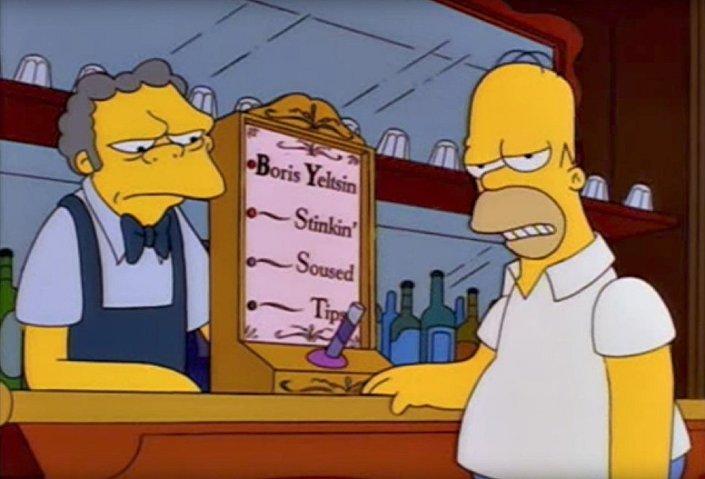Simpsons dizisinde Rusya karşıtlığı